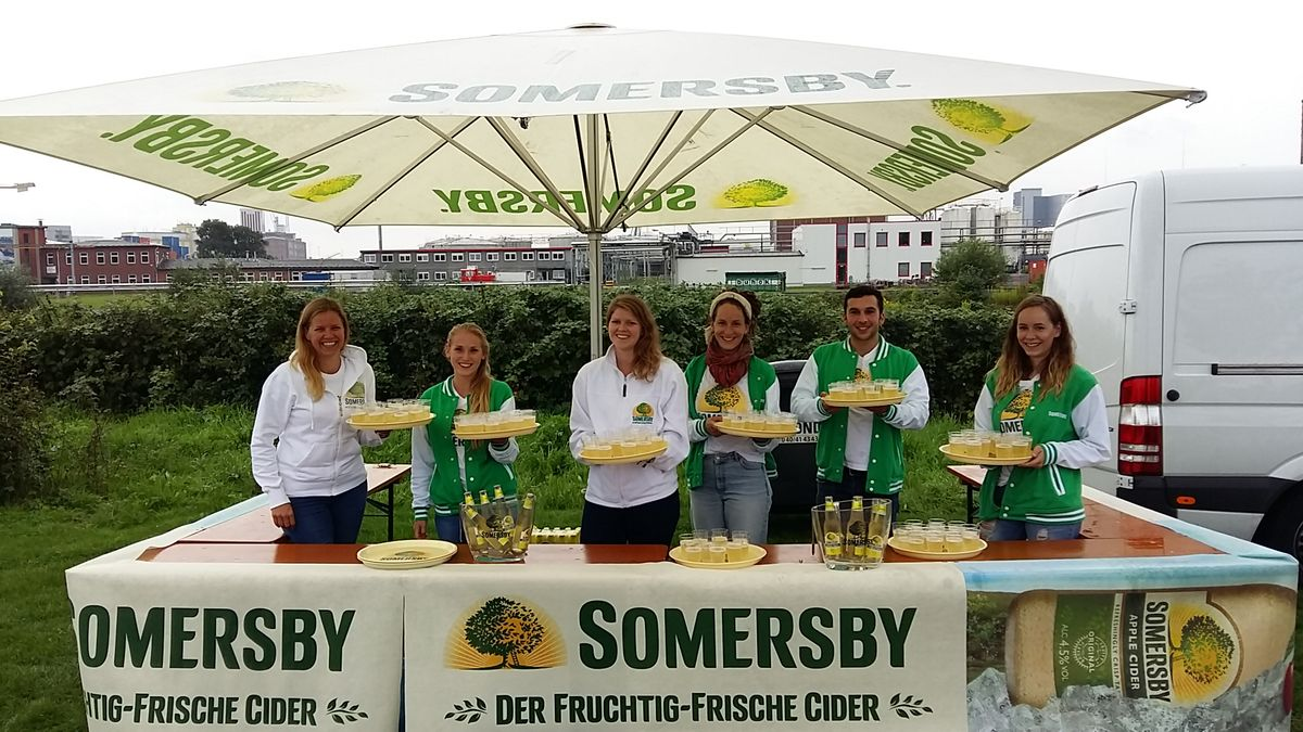 Somersby Sampling - Dockville Festival