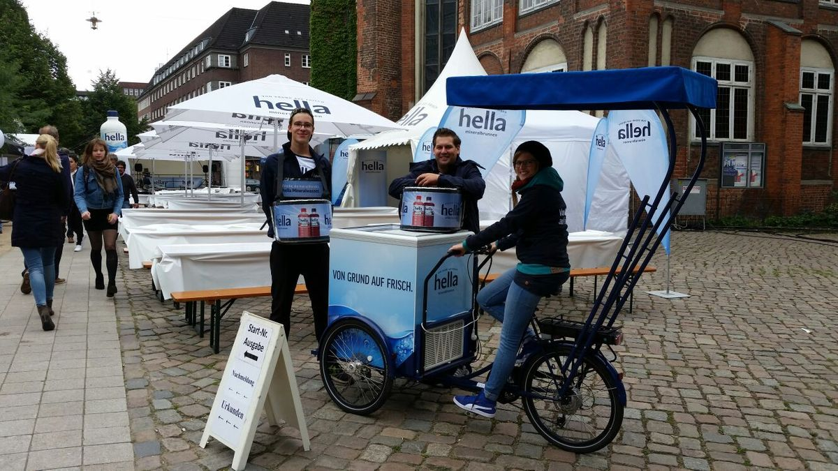 hella Sampling - Alsterlauf Hamburg